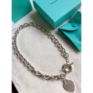 Tiffany & Co. Heart Toggle Necklace
